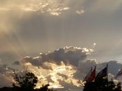 Sunset at Veterans Park Moore Ok