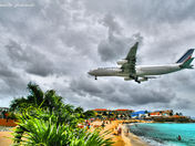 Air France landing at Princess Juliana