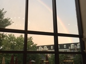 Summer Rainbow at Willow Valley