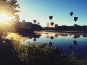 Pittsfield hot air balloon rally 2016
