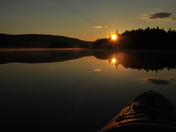 Sunrise on East Inlet, Pittsburg NH