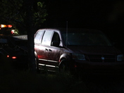 Stolen Red Dodge Van Found in Pond