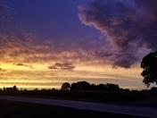 Ozark sunset