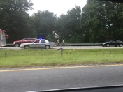 I85 wreck at mile marker 9 in Anderson County