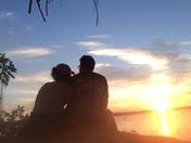 Saylorville Saturday night sunset