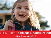 Local Mattress Firm Stores Hosting a School Supply Drive for Foster Kids
