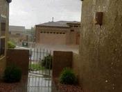 Pouring in Los Lunas