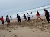 Perking at the Beach!