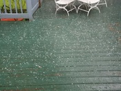 Hail in Fitchburg 8-2-17 3:30pm