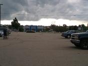 Shelf cloud in Slinger