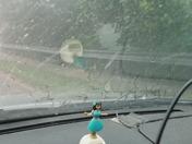 Hailing in Towson