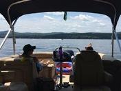 Relaxing on Lake Winnisquam ??
