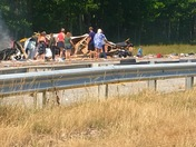 Passersby help Saco/295 Crash Victim