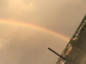 Rainbow over Manchester