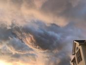 Strange Clouds above Rutland, Ma