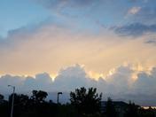 Storm system Northwest of Chelmsford