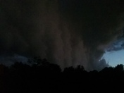 Storm cloud tonight about 8:30pm.