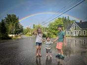 Sutton,NH rainbow