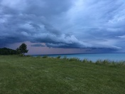 Lake Michigan at CUW