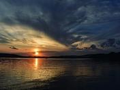Beautiful Lake sunsets