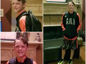 Seth's first day of 6th grade