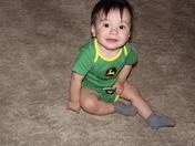 Jacobo Ortiz III First Birthday