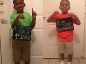 First day of school then and now