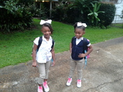 First day of kindergarten and pre-k