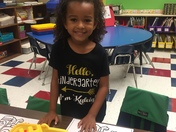 Kyleigh first day of school