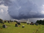 Cloud Over Cemetery