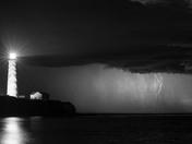 Lightning storm