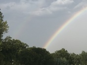 Rainbows after the storm here in Norman, Oklahoma