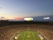 Sunset at Lambeau