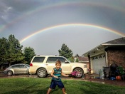 Asher's Double Rainbow