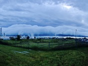 Roll Cloud Friday morning in Ponca City.