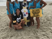 STEELER NATION AT THE BEACH