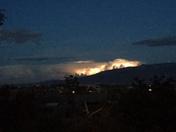 Lightning over the Sandias tonight!