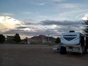 Clouds in Tucumcari