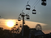 Iowa State Fair Sunset