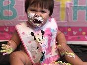 Nevaeh's 1st birthday!!