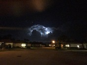 Last night thunderstorm what a shot