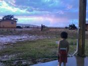 Isleta Pueblo Rain