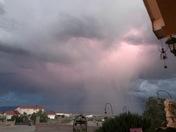 Monday storm