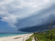Approaching storm in Vero Beach