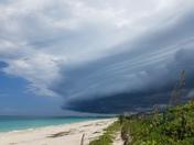 Approaching storm in Vero Beach