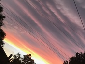 Clouds over Enid, OK after the storms passed through!