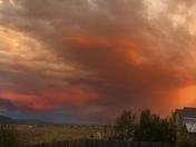 Sunset after a storm