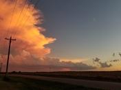 Storm clouds SW Oklahoma