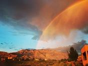 Sandia rainbow view
