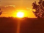 Sunrise in Tucumcari